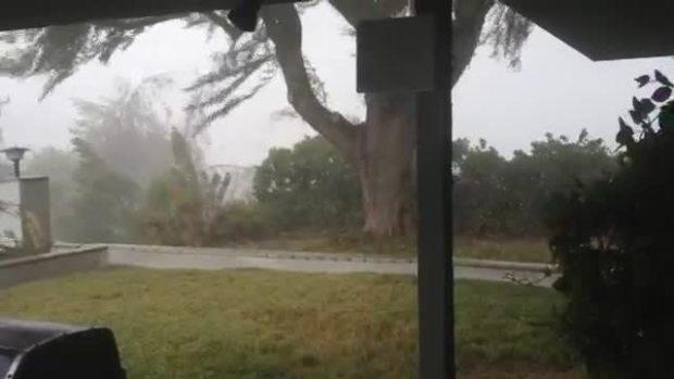 Microburst Storm Video, Casa de Oro-Mt Helix, CA
