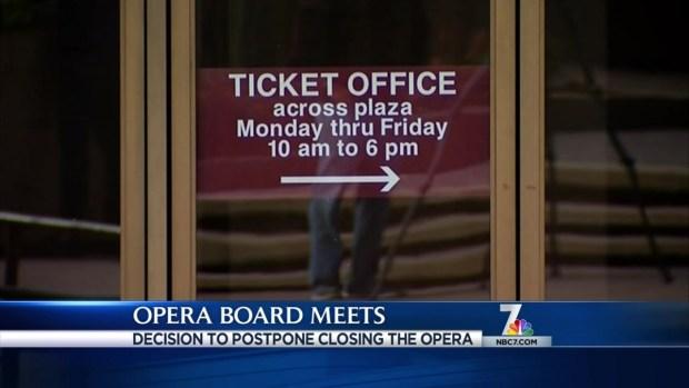 [DGO]San Diego Opera Closing Postponed