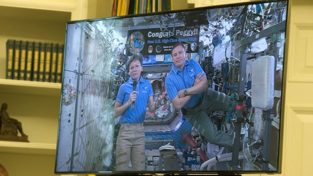 [NATL] Trump Talks NASA Bill With Record-Breaking ISS Commander