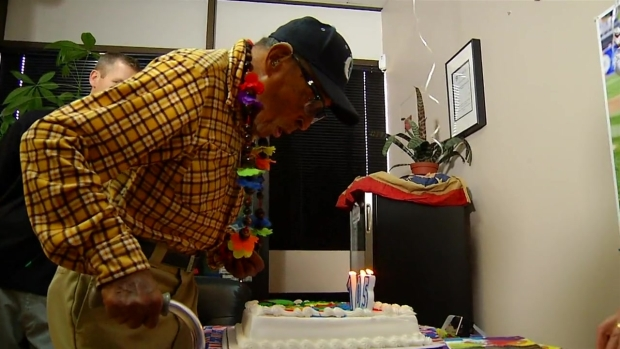 [DGO] Oldest Living Pearl Harbor Vet Blows Out Candles on 105th Birthday