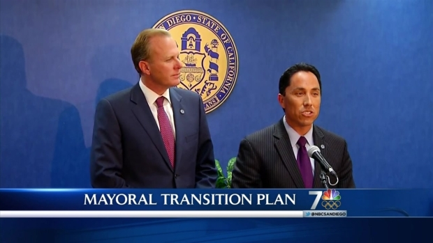 [DGO]Faulconer, Gloria Plan Mayoral Transition