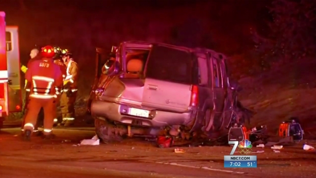 [DGO] 3 Killed in Clairemont Crash