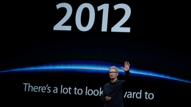 Tim Cook More Popular at Apple than Jobs