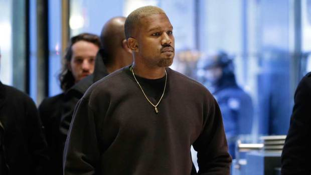 [NATL] Kanye West Enters Trump Tower
