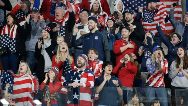 Olympics Fans Wear Their National Spirit in Pyeongchang