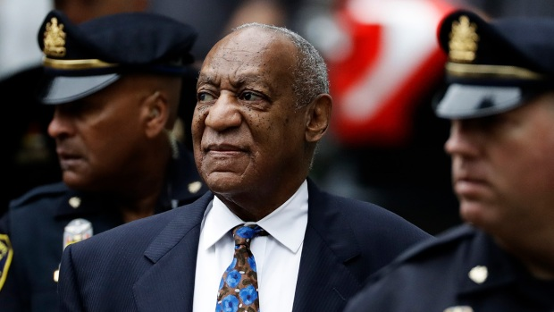 [NATL] Top News Photos: Bill Cosby's Sentencing Hearing Begins