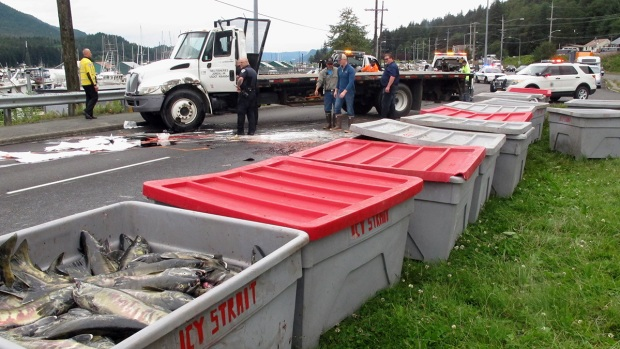 [NATL] Unfortunate Truck Spills