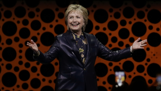 [NATL] Hillary Clinton Gives First Post-Election Speech at Event for Businesswomen