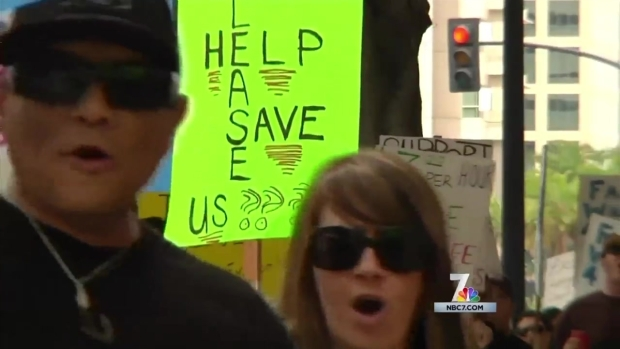 [DGO] Paramedics, EMTs Picket for Higher Wages