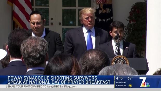 [DGO] Poway Synagogue Shooting Survivors at White House
