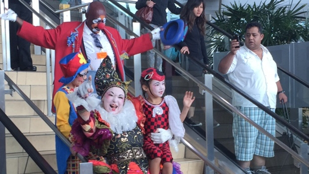 Circus Starts Residency at San Diego International Airport