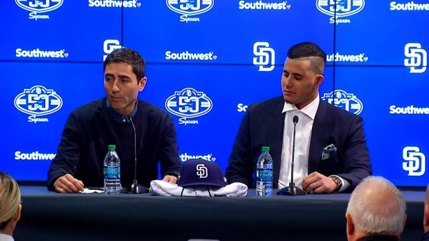 AJ Preller Talks Machado & Future of Padres