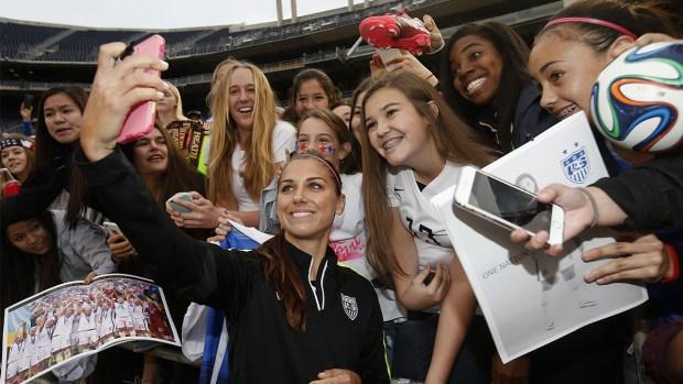Women's National Soccer Team Plays Ireland in San Diego