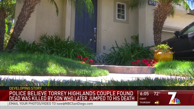 [DGO] SDPD Believes Torrey Highlands Couple Was Killed by Son
