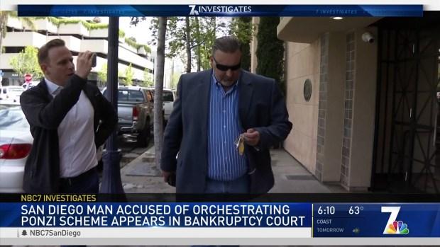 Alleged Ponzi Schemer Runs From NBC 7s Questions