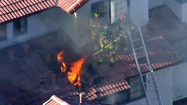 [DGO] Watch: Garage Fire Spreads to Apartments