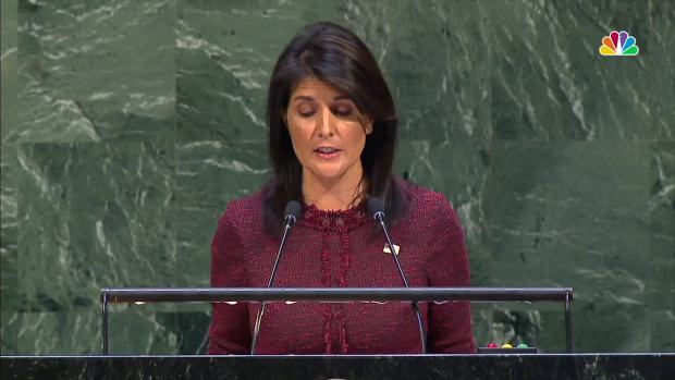 [NATL] Nikki Haley Hints at US Retaliation Over UN Jerusalem Vote