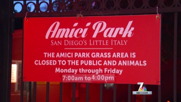 [DGO] Little Italy Residents Debate Use of Amici Park
