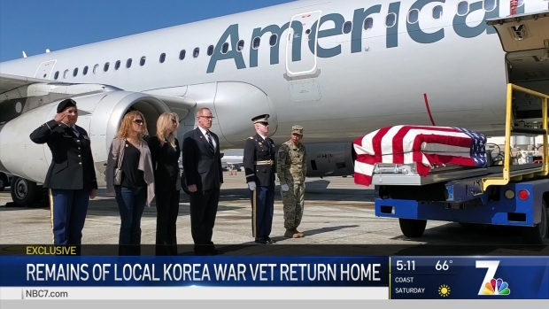 Army Sgt's Remains Return 69 Years After He Was KIA