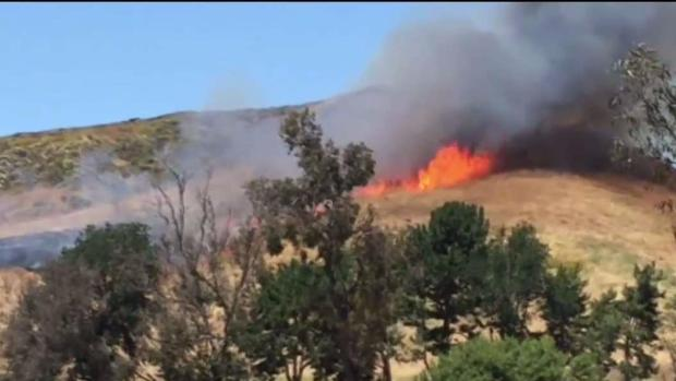 Arson Suspected in Camp Pendleton Brush Fire