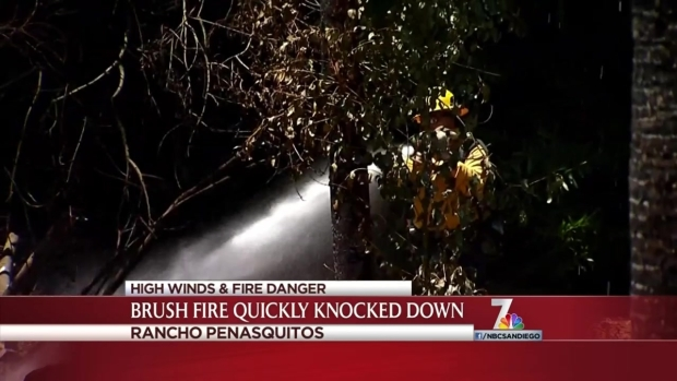 [DGO] Trees Burn in Rancho Penasquitos