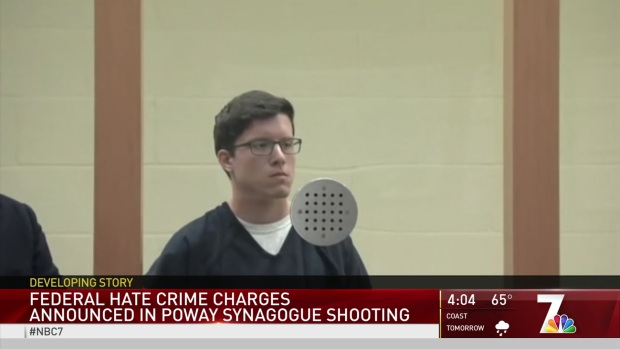 [DGO] Poway Synagogue Shooter in Federal Court