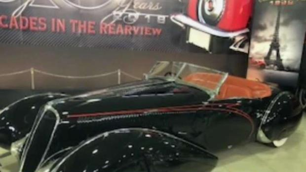 Automotive Museum Shows Off '30 Years in the Rearview'