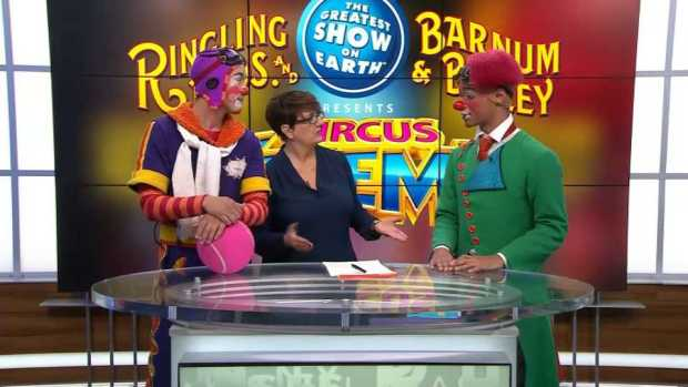 [NATL-NECN] Clowning Around as Ringling Brothers Say Goodbye