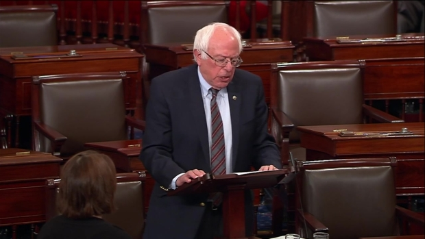 [NECN-NATL] Sen. Sanders Says Virginia Shooter Apparently Volunteered on His Campaign