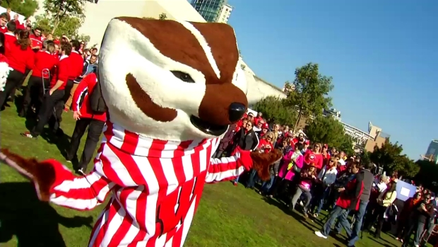 Wisconsin's Badger Band Flirts With USC Trojans