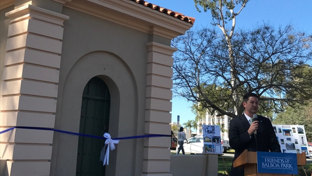 'Gate Houses' Restored at Balboa Park