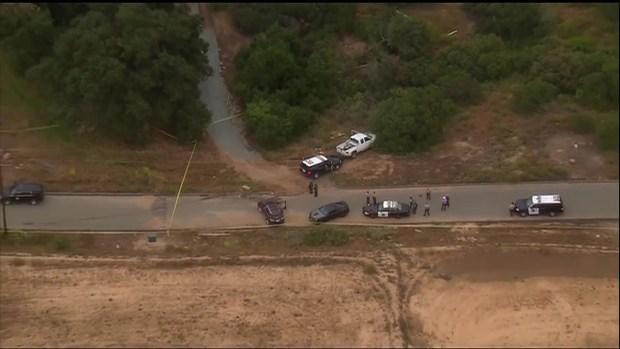 Scene of Barona Deputy Involved Shooting
