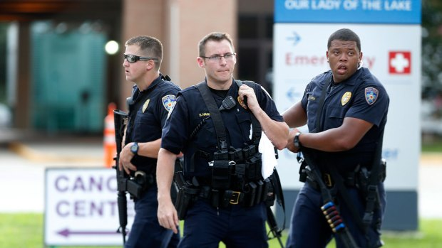 Calls for Respect and Unity at Slain Baton Rouge Officer's