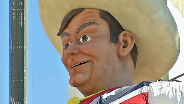 [DFW] Big Tex Makes State Fair Debut, One Day Early