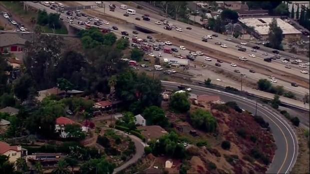 1 Dead, 6 Hurt in SR-125 Big Rig Crash