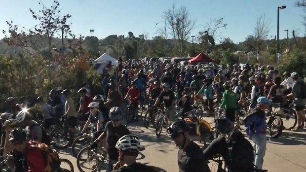 [DGO] Cyclists Protest Mission Trails Park Closures
