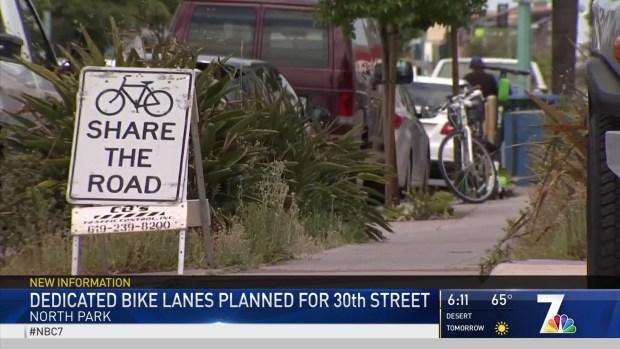 Bike Lanes May Change Parking in North Park