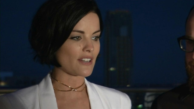'Blindspot' Star Jaimie Alexander Talks Premiere