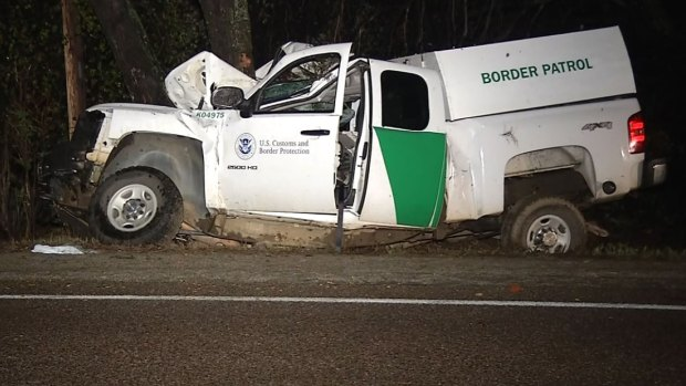 [DGO] Border Patrol Injured in Collision with Tree