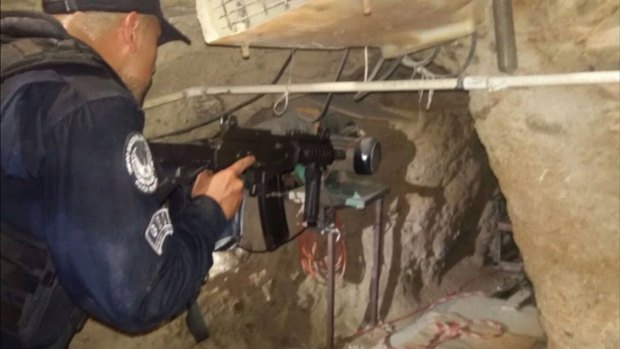 Images: Border Tunnel Uncovered, Tons of Drugs Seized