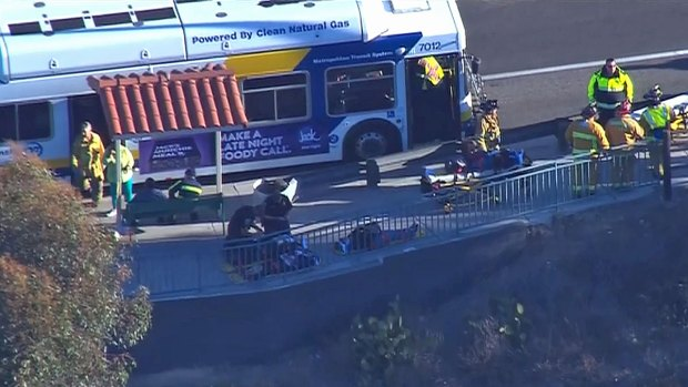 [DGO] Several Injured in Chula Vista Bus Crash