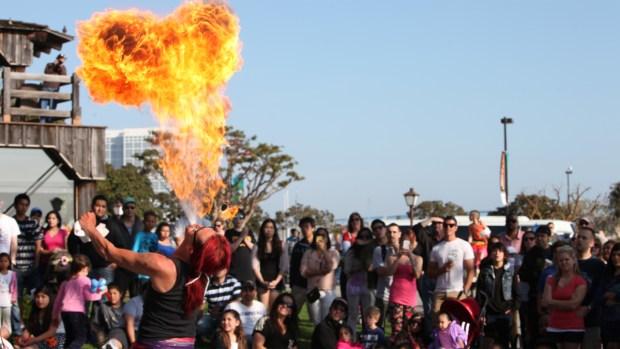 [G] Seaport Village to Host Spring Busker Festival