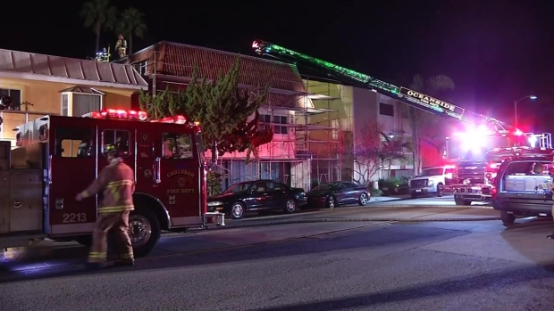 [DGO] Firefighters Save Christmas Gifts in Carlsbad