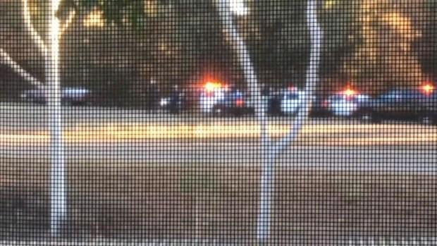 Cell Phone Video: Suspect Shot as Pursuit Ends
