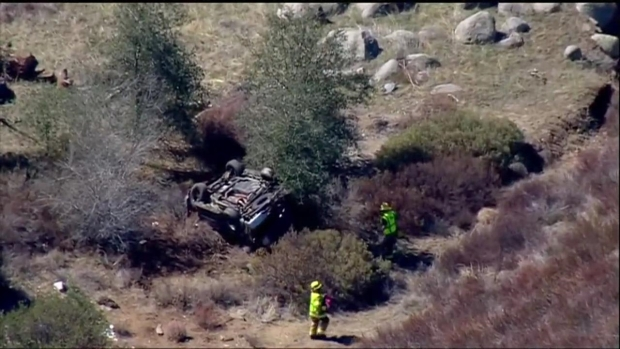 [DGO] Multiple People Injured in Pursuit Crash on I-8 Near Pine Valley