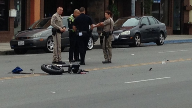Images: Hillcrest Motorcycle Crash