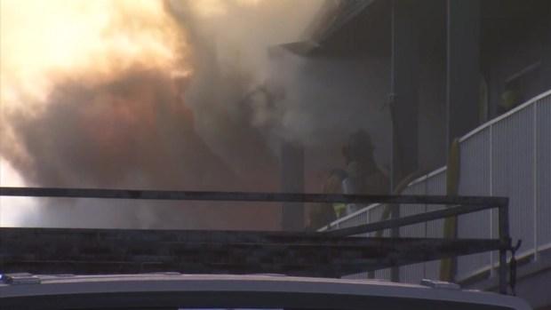[DGO]1 Injured in Chula Vista Apartment Fire