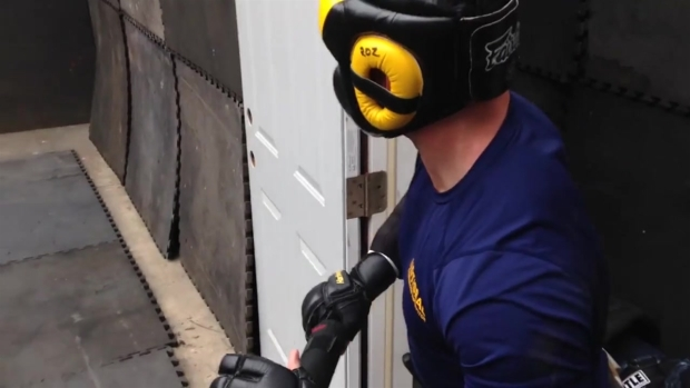 Randy Rozzell Runs Through 'Kill House' Training Course