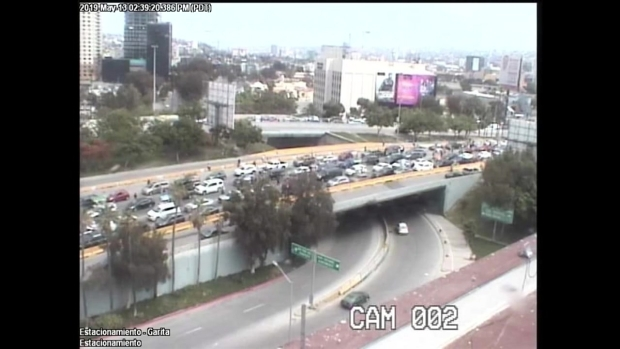 Camera Shows Truck Barreling Through Traffic in Tijuana