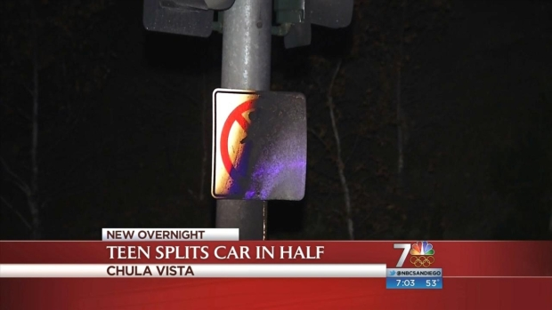 [DGO] Teen Splits Car in Half in Crash